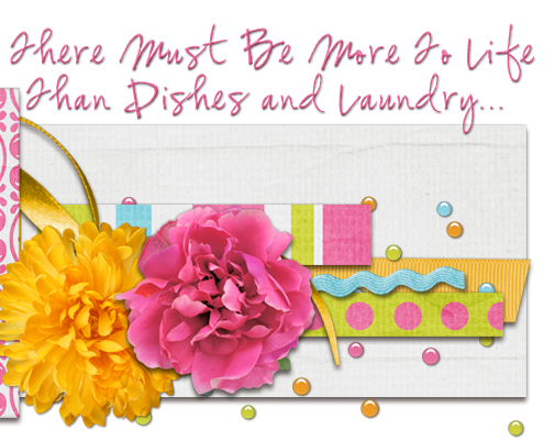 There Must Be More To Life Than Dishes And Laundry