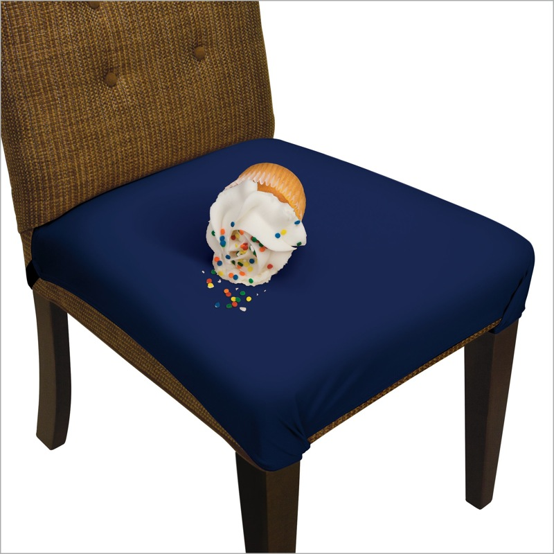 Picture of Midnight Navy Blue SmartSeat Dining Chair Protector