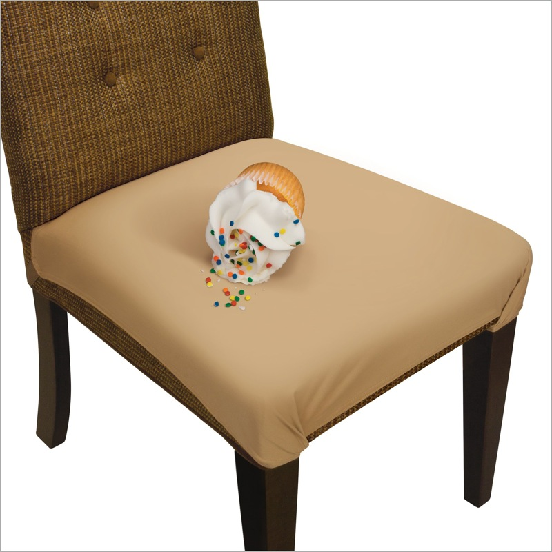 Picture of Tan SmartSeat Dining Chair Protector