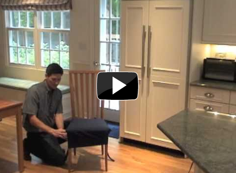How to Install the SmartSeat Dining Chair Cover