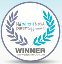 Winner Of The Coveted Parent Tested, Parent Approved Award!