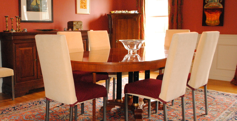 Dining room chair seat