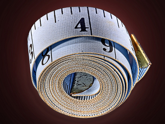 Size and fit tape measure