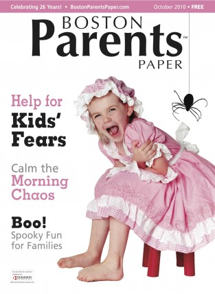 Cover Of October Edition Of Boston Parent Paper