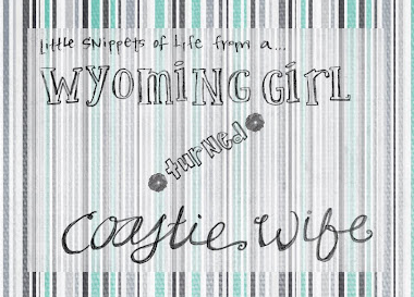Wyoming Girl Turned Coastie Wife