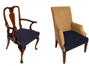 Antique and Armchair